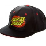 Psychedelic Dot Adjustable Snapback Hat