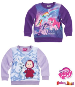 Masha and The Bear – My Little Pony – Fleece sweatshirt